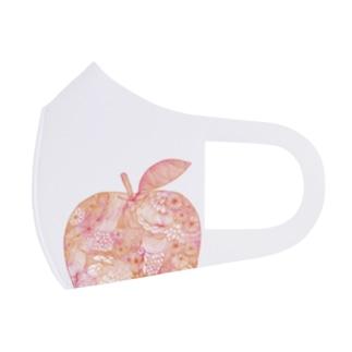 りんご。 Full Graphic Mask