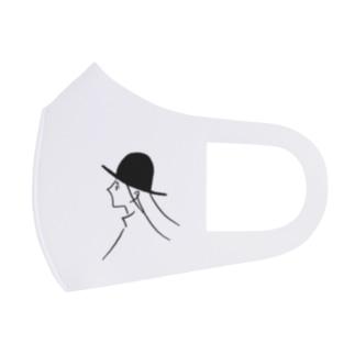 風と帽子のつくしちゃん Full Graphic Mask