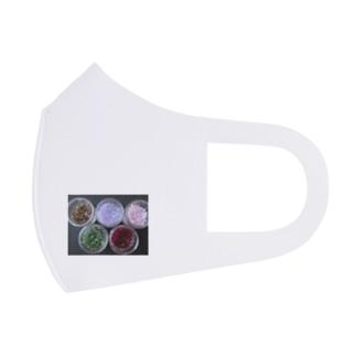 ビーズNo.2 Full Graphic Mask