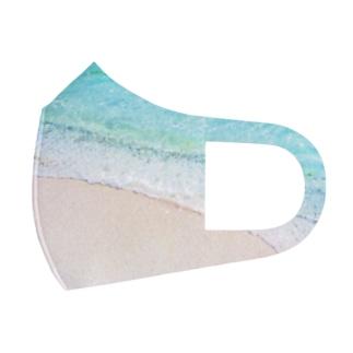 Beachy 🌊 Full Graphic Mask