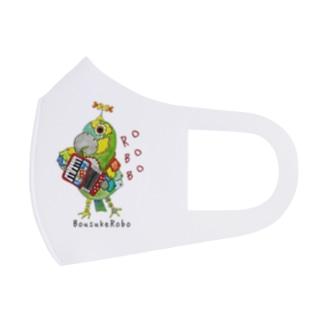 ROBOBO ボウシインコのボウ助  Full Graphic Mask