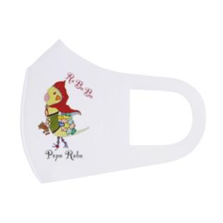 ROBOBO オカメインコ「ポポロボ」 Full Graphic Mask