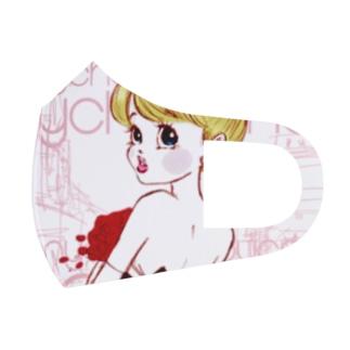 大人CANYinPARIS Full Graphic Mask