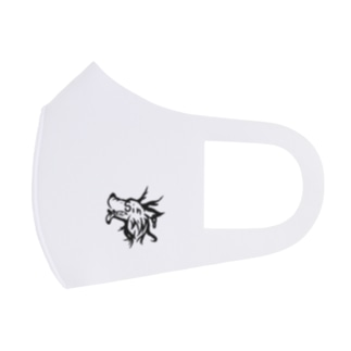 ロゴ black Full Graphic Mask