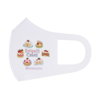 Sweets Cakes Full Graphic Mask