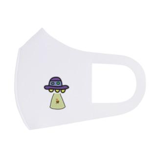 UFOとくりぼーい Full Graphic Mask