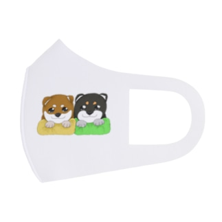 柴犬赤ちゃんズ Full Graphic Mask