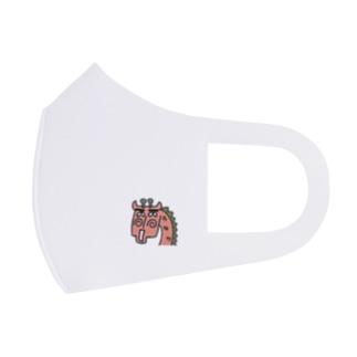 きりんが「うっそ~」 Full Graphic Mask