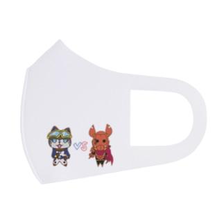 ゆるギャネ&ゆるガメ Full Graphic Mask