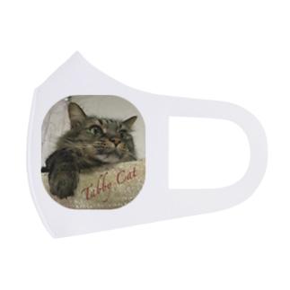 Tabby Cat Full Graphic Mask