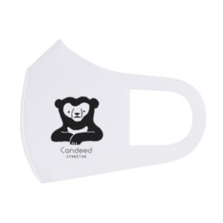 マレーグマ(ロゴあり) Full Graphic Mask