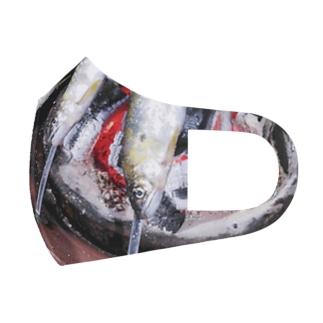 鮎の塩焼き Full Graphic Mask