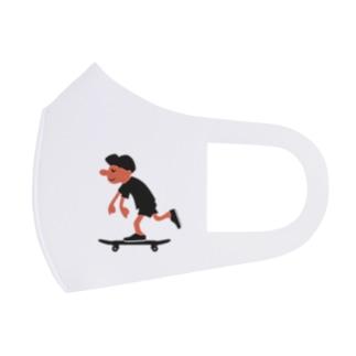 スケートボードゴーゴー Full Graphic Mask