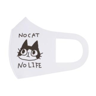 NO CAT NO LIFE Full Graphic Mask