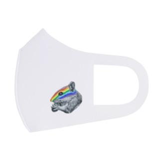 chipmunk Full Graphic Mask