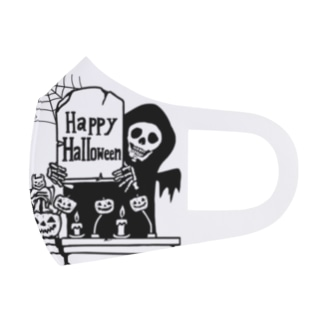 HappyHalloween Full Graphic Mask