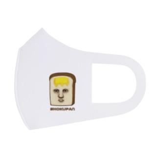 すとろべりーガムFactoryの真面目な食パン  Full Graphic Mask