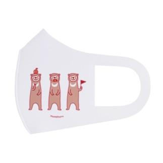 愉快なマレーグマさん's Full Graphic Mask