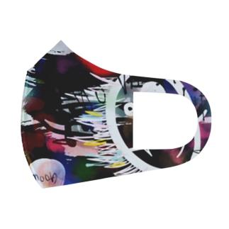 moon マスク Full Graphic Mask