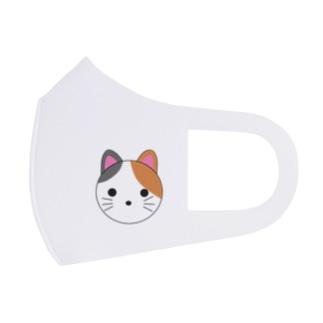三毛猫ちゃん Full Graphic Mask