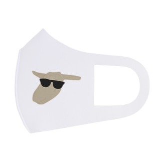 イカすひーじゃ(やぎ) Full Graphic Mask