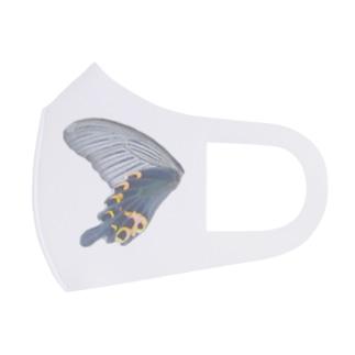 黒揚羽の翅 Full Graphic Mask