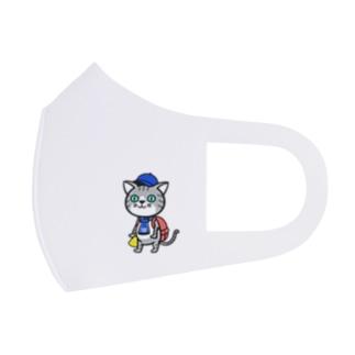 にゃんサポ Full Graphic Mask