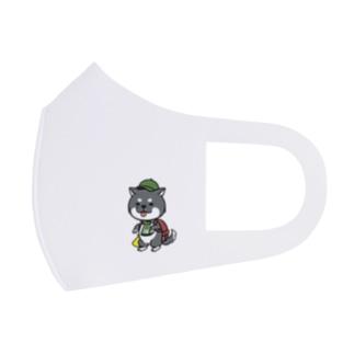 わんサポ 2 Full Graphic Mask