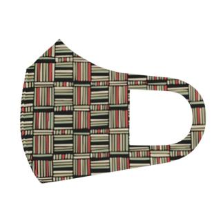 レトロパターン Full Graphic Mask