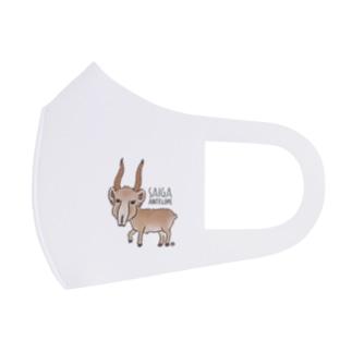 サイガくん Saiga Antelope Full Graphic Mask