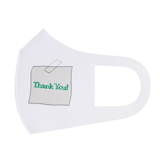 Thank You! Full Graphic Mask