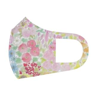 garden dream Full Graphic Mask