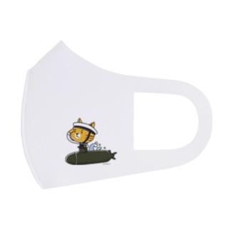 にゃん水艦 Full Graphic Mask