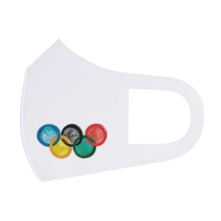 コンドームオリンピック Full Graphic Mask