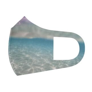 パラオの海 Full Graphic Mask