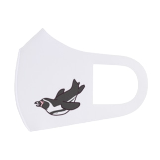 泳ぐ!フンボルトペンギン Full Graphic Mask