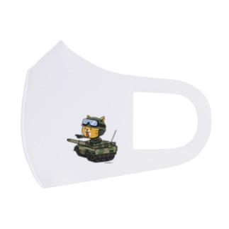 ネコマル式戦車 Full Graphic Mask