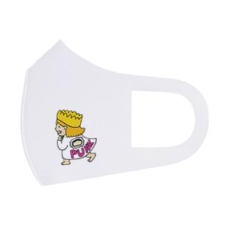 パンクガール Full Graphic Mask