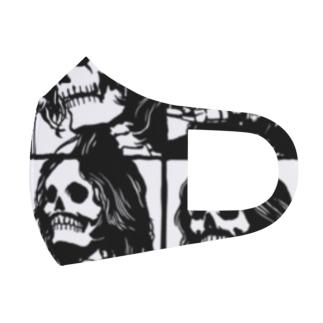 LOVE ROCK Full Graphic Mask
