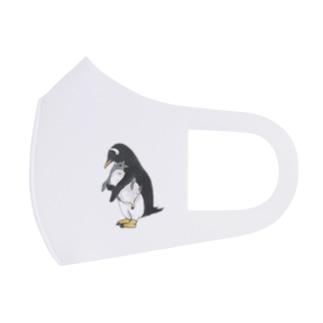 ジェンツーペンギンのミニクリアケース Full Graphic Mask