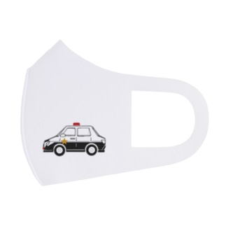 MASK_Police Car Full Graphic Mask
