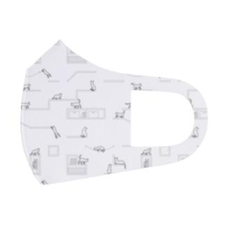 キャットウォーク Full Graphic Mask