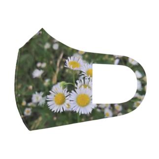 初夏 道端の花 Full Graphic Mask