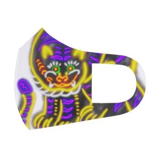 ネオン 虎ちゃん Full Graphic Mask