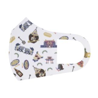 沖縄の宝 Full Graphic Mask