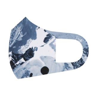モノクロ絵の具セット Full Graphic Mask