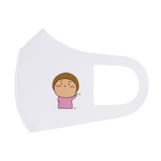 こまめちゃん Full Graphic Mask
