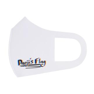 Daoji's Flagロゴ Full Graphic Mask