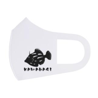 カワハギ Full Graphic Mask