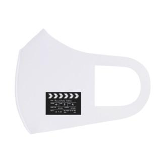映画撮影 カチンコ Full Graphic Mask
